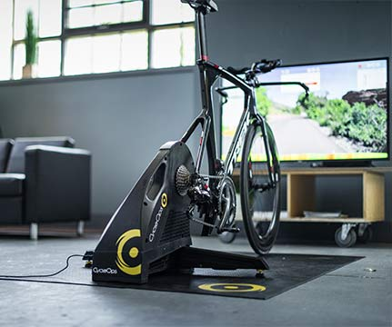 CycleOps indoor trainer